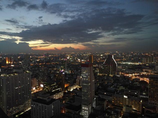 Ausblick von der Cloud 47, United Center Tower