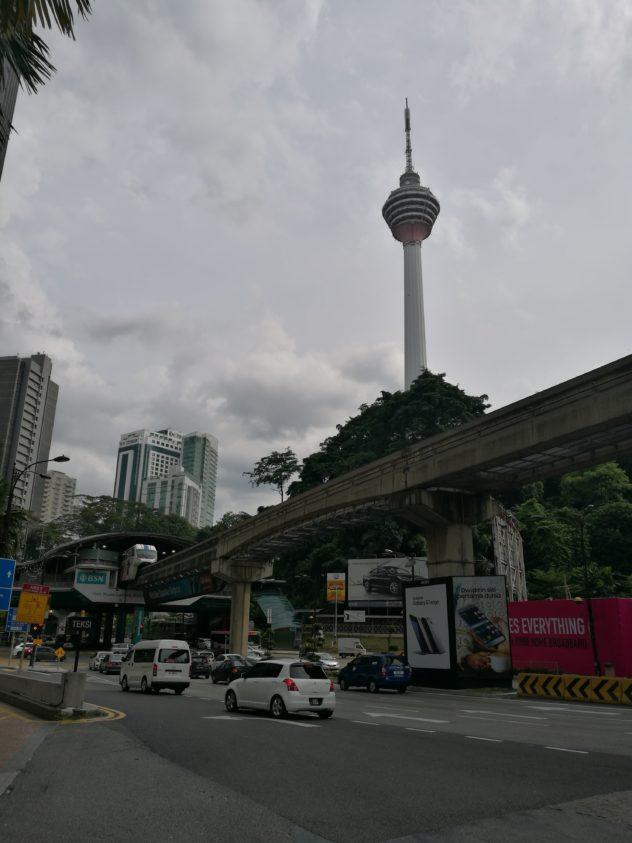 Blick zum KL-Tower