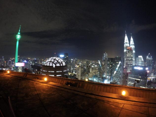 freier Ausblick zur Skyline