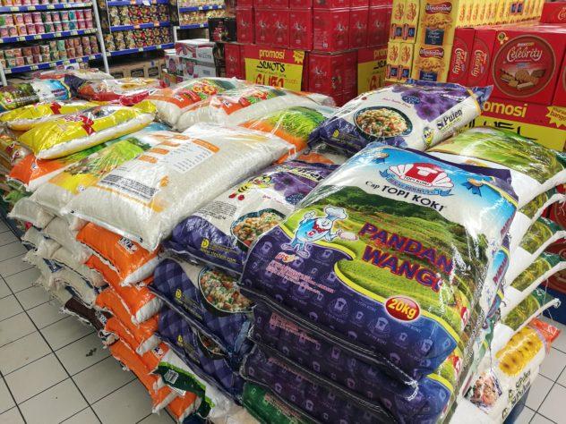 Reis im 20kg-Sack