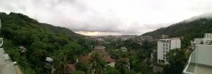 Ausblick vom Balkon - Santosa Wellness Center
